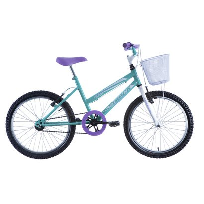 Bicicleta Track & Bikes Aro 20 Cindy - Feminino - Azul