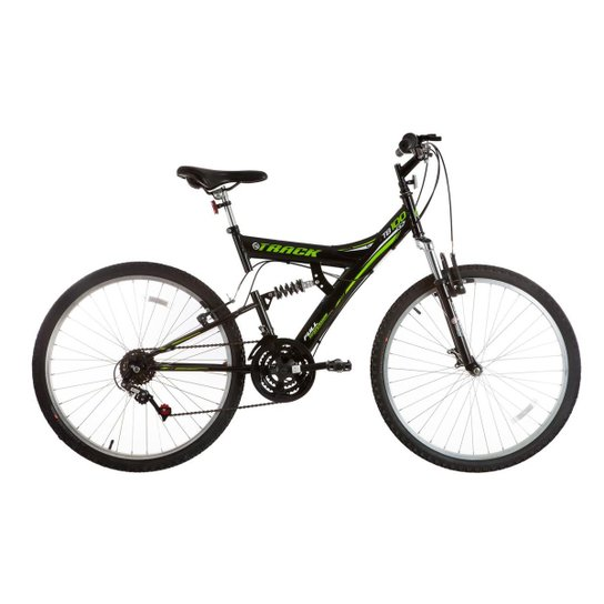 Bicicleta Track Bikes TB 100 Mountain Bike Aro 26 - Preto+verde