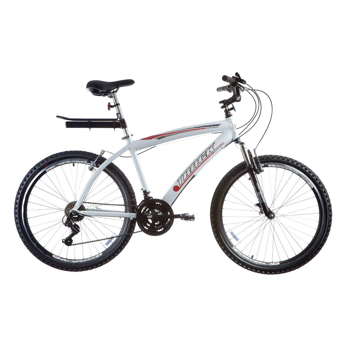 Bicicleta Track Bikes Week 300 Aro 26 - 21 Marcha - Branco