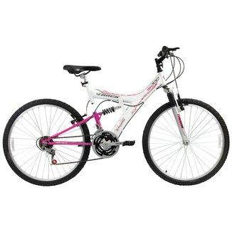 Bicicleta Track TB 200 Dupla Suspensão 18 V - Aro 26