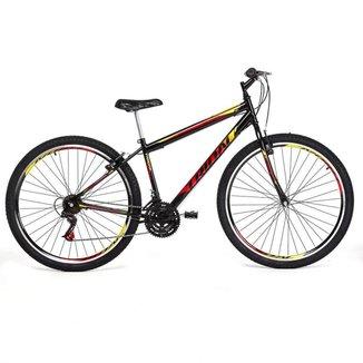 Bicicleta Tridal Evolution Mountain Bike Aro 29 36 Raios Freios V-brake