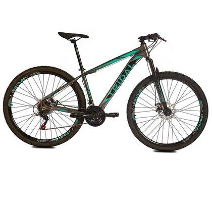 Bicicleta Tridal Polygon Aluminio Aro 29 Freios a Disco Susp. Dianteira - 110