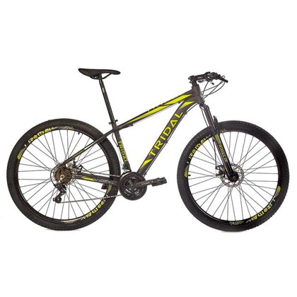 Bicicleta Tridal Polygon Aluminio Shimano A29 Freios a Disco Susp. Dianteira