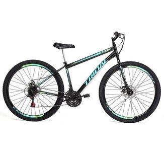 Bicicleta Tridal Reaction Mountain Bike Aro 29 36 Raios Freios a Disco