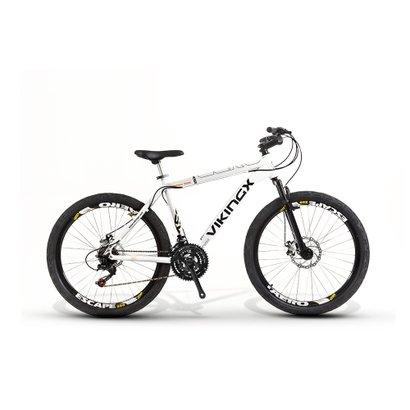 Bicicleta Vikingx 55 Aro 26 Freio À Disco 24 Marchas - Unissex