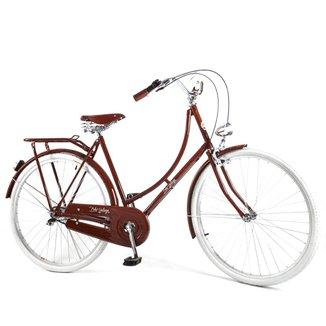 Bicicleta Vintage Retrô Masculina Ícaro Plus Light Wood Kit Marcha Nexus Shimano 3 Velocidades
