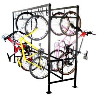 Bicicletario de Correr Duplo para 20 Vagas Altmayer AL-99