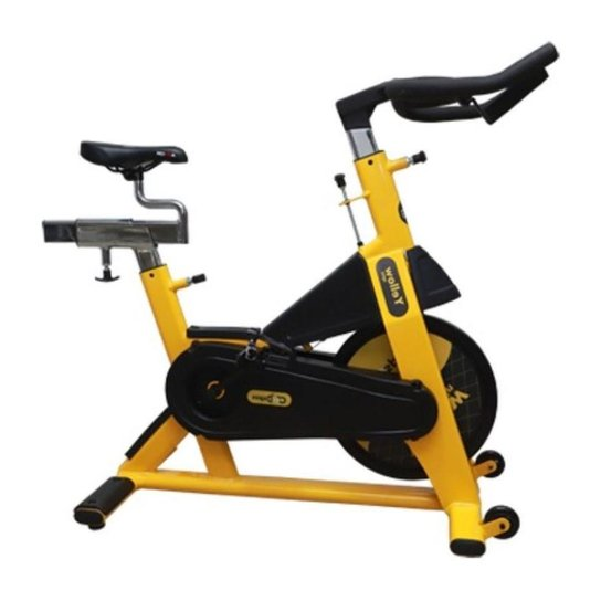 Bike Spinning Profissional - Amarelo