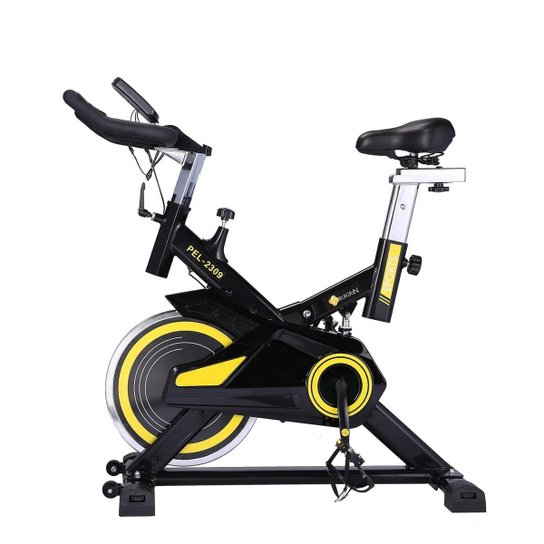 Bike Spinning Racing Profissional Pelegrin PEL-2309 - Preto