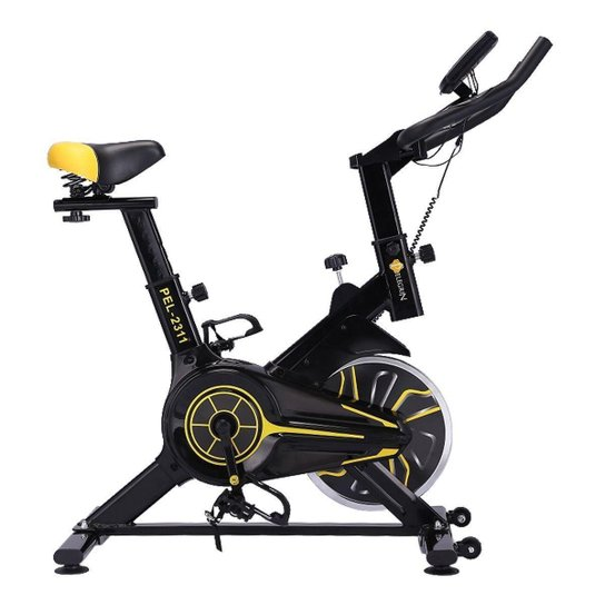 Bike Spinning Racing Profissional Pelegrin PEL-2311 - Preto