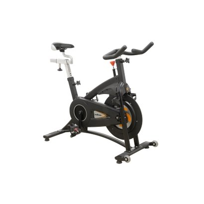 Bike Indoor Wellness SUPER M, de uso rofissional possui a roda de Inércia de 19 kg, freio magnético que proporciona maio...