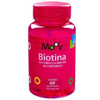 Biotina Firmeza Crescimento Saúde Cabelos Pele Unhas 60 comprimidos