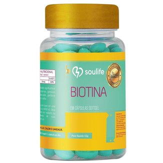Biotina Soulife 250mg - 120 Cáps