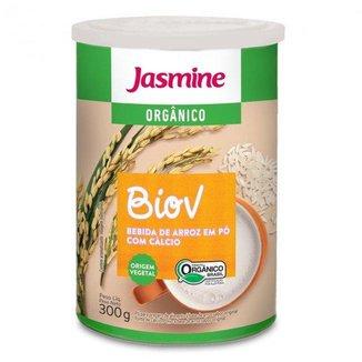 Biov Bebida Em Po Jasmine Vegana Arroz + Calcio