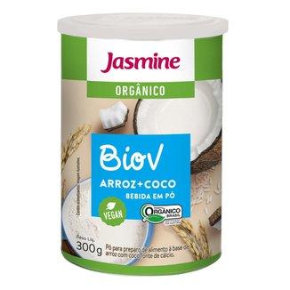 Biov Bebida Em Po Jasmine Vegana Arroz + Coco