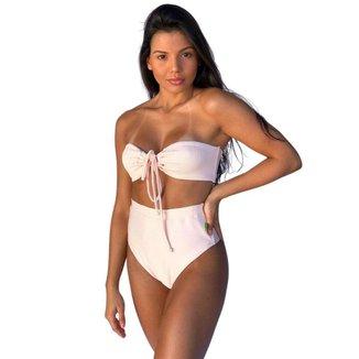 Biquíni Hot Pants Ludmila San Maré Rosa -