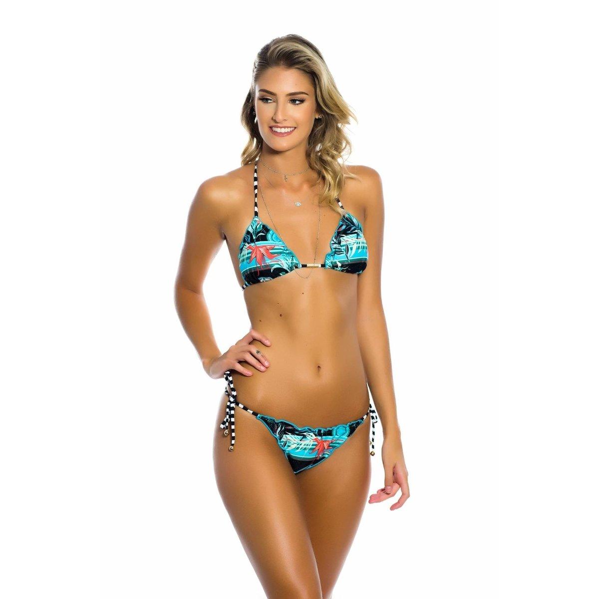 f00a04ee1 Biquíni Ripple Hibiscus Kalini Beachwear | Netshoes