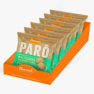 Biscoito Parô Polvilho Multigrãos 40G D6 FLORMEL