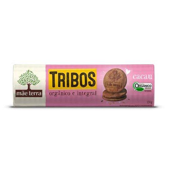 Biscoito tribos Cacau - Mãe Terra - 130 gr -