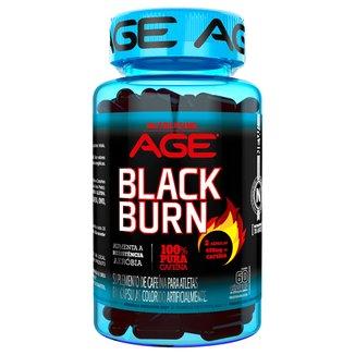 Black Burn Age 60 Cáps - Nutrilatina
