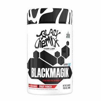 BLACK MAGIK 450 Gramas Energético em Pó Metabolismo Força