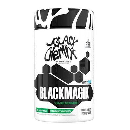 Black Magik 450g Strawberry Kiwi Splash Black Chemix By Under Labz