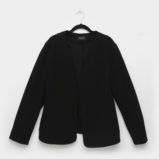 Blazer Kedio Sem Gola Plus Size Feminino