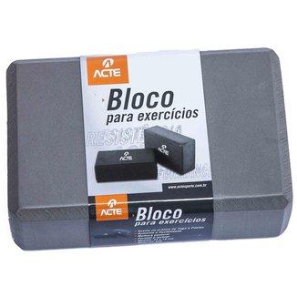 BLOCO P/ EXERCICIO ACTE T60 - CINZA
