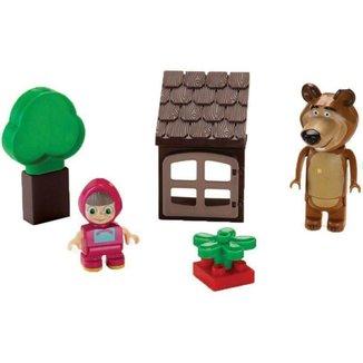 Blocos de Montar Coleção Masha e o Urso
