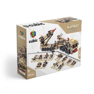 Blocos de Montar Cubic Exército 549 Peças Multikids - BR1096