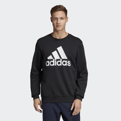 Blusa Adidas Mh Bos Crewfl Masculino