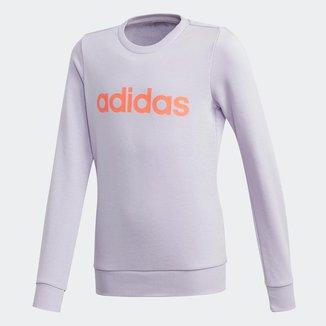 Blusa Adidas Moletom Linear