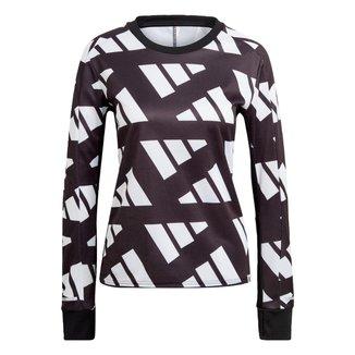 Blusa Adidas Moletom Own The Run Celebration Feminino