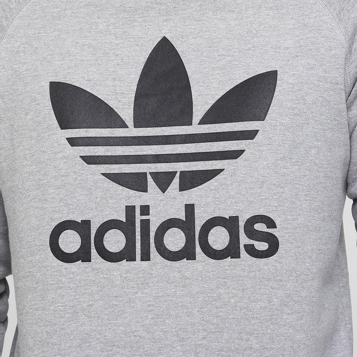 ... Blusa Adidas Trefoil  Blusa Adidas Trefoil 94fd1064ca9