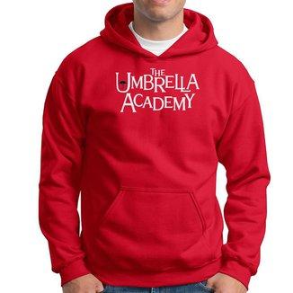 Blusa Agasalho Moletom Canguru com Capuz Unbrella Academy