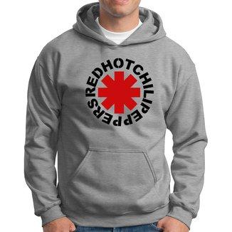 Blusa Agasalho Moletom Canguru com Capuz Unissex Red Hot Chili Peppers NS-H-CEUML27