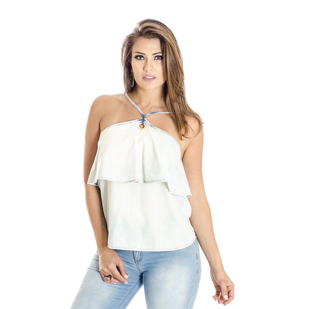 34175c357 BLUSA BABADOS JEANS COLCCI - Compre Agora | Netshoes