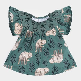 Blusa Bebê Nanai Bata Elefante Feminina