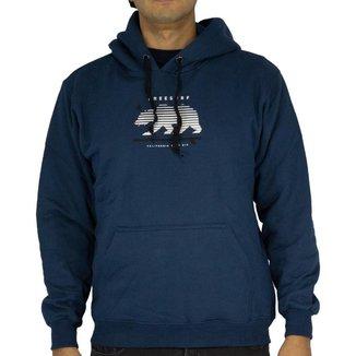 Blusa Canguru Freesurf Basico California Masculino