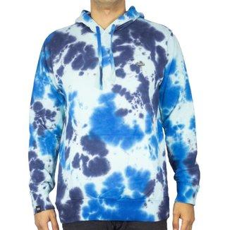 Blusa Canguru Freesurf Blue Tie Masculino