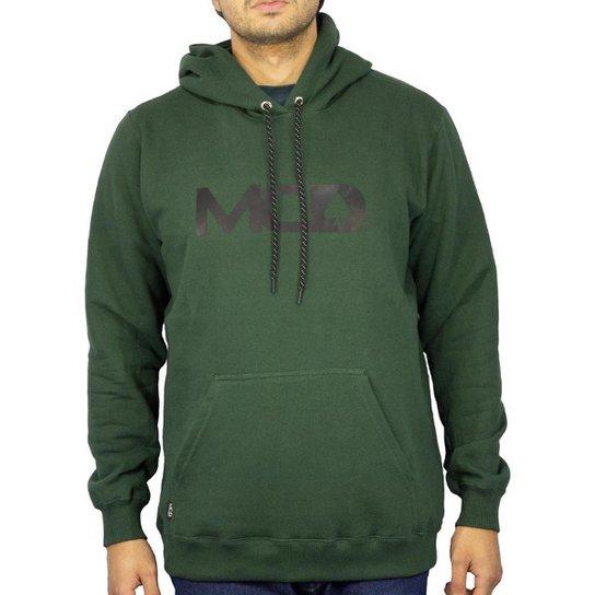 Blusa Canguru Mcd Fech Masculino - Verde