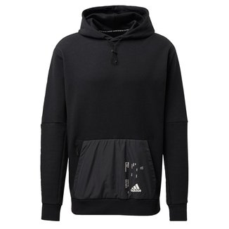 Blusa Capuz Woven Pocket   Adidas Masculino