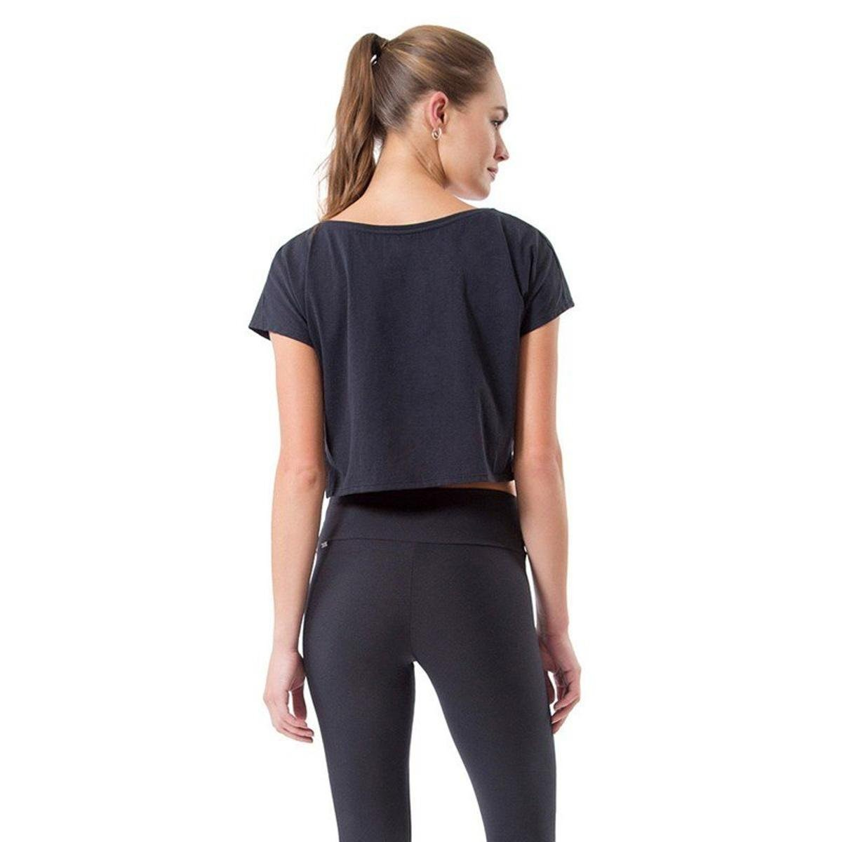 Blusa Preto Blusa Cropped Live Evolution Cropped Evolution wPW1WqBaE