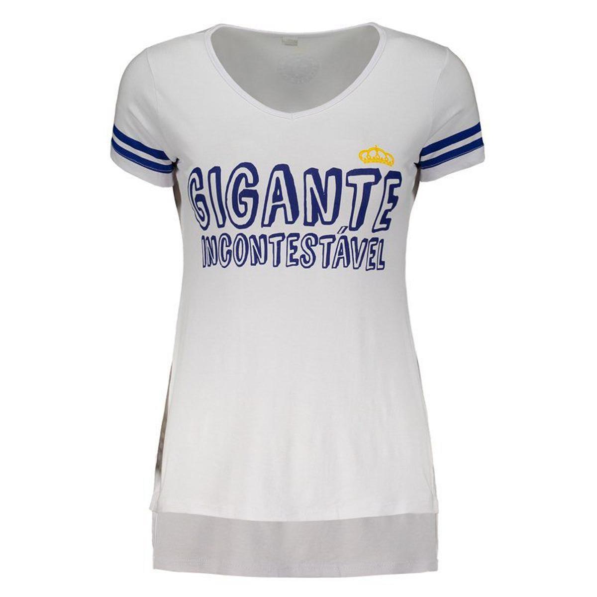 804bd106db84a Blusa Cruzeiro Nation Feminina - Branco - Compre Agora