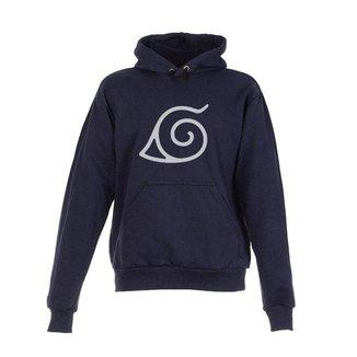 Blusa De Frio Moletom Naruto Infantil Juvenil Azul Marinho
