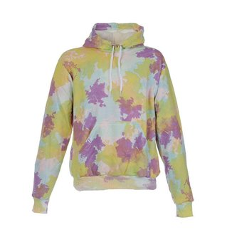 Blusa De Frio Moletom Plus Size Peluciado Tie Dye