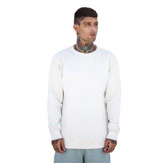 Blusa de Moletom Liso  Básico Careca Di Nuevo Masculina