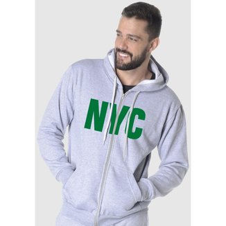 Blusa De Moletom Masculino Estampa New York City
