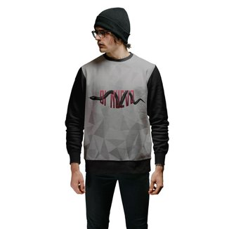 Blusa de Moletom Snake Black Red Animals Di Nuevo Masculina