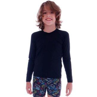 Blusa de Proteção UV Infantil Cecí